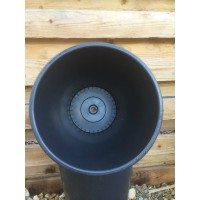 10 X 15 Litre Used Plastic Plant Pots (Central Hole)
