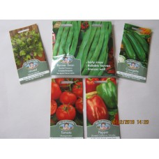 5 x Vegetable Seeds 2020 Promo 1