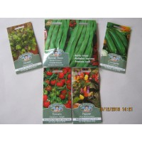 5 x Vegetable Seeds 2020 Promo 2