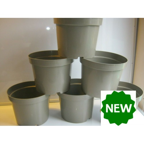 20 X 10 Litre Recycled Recyclable Plastic Plant Pots