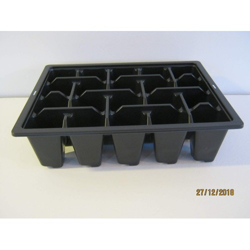 25 X BEDDING PACKS 6 MULTI CELL INSERTS PLASTIC TRAYS