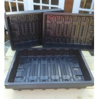 10 X FULL SIZE GRAVEL TRAYS / SEED TRAYS (WITHOUT DRAINAGE HOLES)