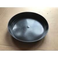 20 X 24cm Round Black Plastic Plant Pot Saucers